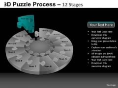 PowerPoint Process Sales Puzzle Process Ppt Layouts