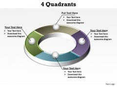 PowerPoint Process Sales Quadrants Ppt Templates
