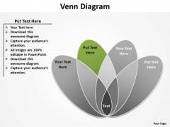 PowerPoint Process Sales Venn Diagram Ppt Slides