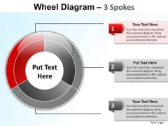 PowerPoint Process Sales Wheel Diagram Ppt Themes