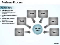 PowerPoint Process Strategy Business Process Ppt Slides