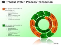 PowerPoint Process Strategy Cycle Diagram Ppt Themes