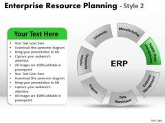 PowerPoint Process Strategy Enterprise Resource Ppt Slides