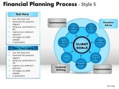 PowerPoint Process Strategy Financial Planning Ppt Slidelayout