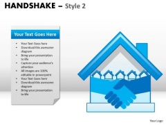 PowerPoint Process Strategy Handshake Ppt Theme