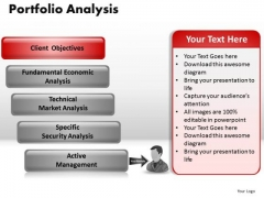 PowerPoint Process Strategy Portfolio Analysis Ppt Backgrounds