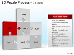 PowerPoint Process Strategy Puzzle Process Ppt Themes