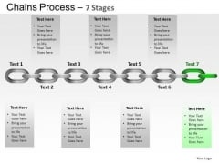 PowerPoint Process Success Chains Process Ppt Design Slides