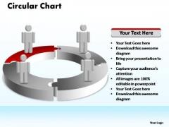 PowerPoint Process Success Circular Ppt Slides