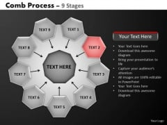 PowerPoint Process Success Hub And Spokes Process Ppt Themes