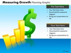 PowerPoint Process Success Measuring Growth Ppt Process