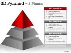 PowerPoint Process Success Pyramid Ppt Templates