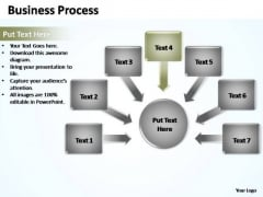 PowerPoint Process Teamwork Business Process Ppt Backgrounds