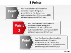 PowerPoint Process Teamwork Points Ppt Backgrounds