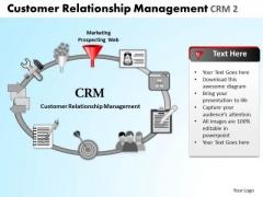 PowerPoint Process Teamwork Relationship Management Ppt Layout