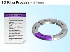 PowerPoint Process Teamwork Ring Process Ppt Design
