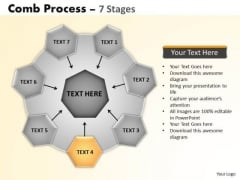 PowerPoint Process Wheel And Spoke Process Ppt Slide