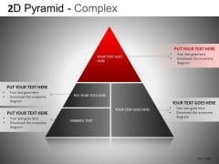 PowerPoint Pyramid Diagram Slide With 4 Stages Ppt Templates