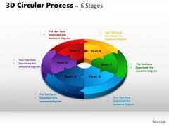 PowerPoint Slide  Strategy Circular Process Cycle Ppt Design Slides