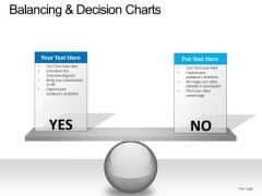 PowerPoint Slide Business Balancing Decision Ppt Template