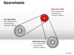 PowerPoint Slide Business Gearwheels Ppt Slide