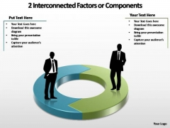 PowerPoint Slide Business Interconnected Ppt Template