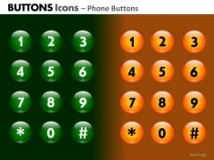 PowerPoint Slide Business Leadership Buttons Icons Ppt Template