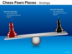 PowerPoint Slide Business Success Chess Pawn Ppt Backgrounds