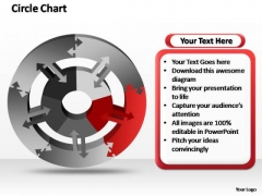 PowerPoint Slide Chart Circle Chart Ppt Theme