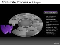 PowerPoint Slide Chart Pie Chart Puzzle Process Ppt Process