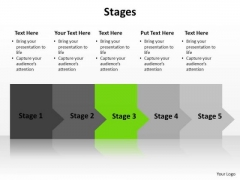 PowerPoint Slide Chart Stages Ppt Design