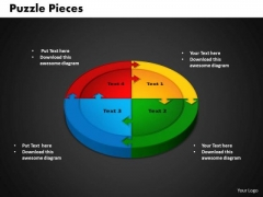 PowerPoint Slide Circle Puzzle Company Ppt Slides