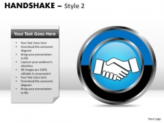 PowerPoint Slide Company Handshake Ppt Designs