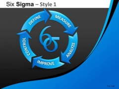 PowerPoint Slide Designs Business Designs Six Sigma Ppt Themes