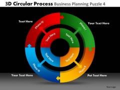 PowerPoint Slide Designs Business Growth 3d Circle Chart Process Ppt Design Slides