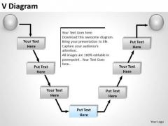 PowerPoint Slide Designs Business V Diagram Ppt Template