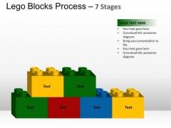 PowerPoint Slide Designs Chart Lego Blocks Ppt Backgrounds