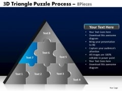 PowerPoint Slide Designs Chart Triangle Puzzle Ppt Slides