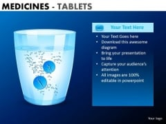 PowerPoint Slide Designs Company Education Medicine Tablets Ppt Slides