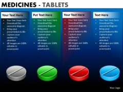 PowerPoint Slide Designs Corporate Success Medicine Tablets Ppt Design Slides