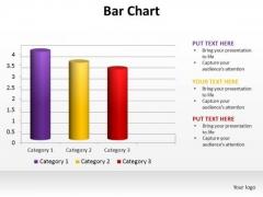 PowerPoint Slide Designs Data Driven Bar Chart Ppt Template