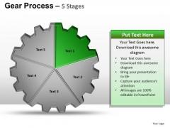 PowerPoint Slide Designs Editable Gears Process Ppt Design