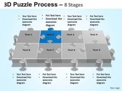 PowerPoint Slide Designs Education Puzzle Process Ppt Design