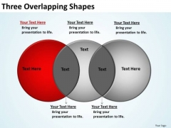 PowerPoint Slide Designs Education Three Overlapping Ppt Designs