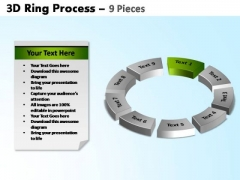 PowerPoint Slide Designs Growth Ring Process Ppt Design