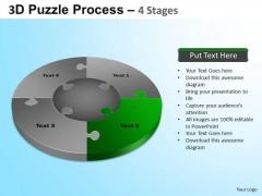 PowerPoint Slide Designs Image Jigsaw Pie Chart Ppt Template