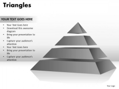 PowerPoint Slide Designs Image Triangles Ppt Slide