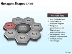 PowerPoint Slide Designs Leadership Hexagon Shapes Ppt Template