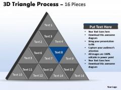 PowerPoint Slide Designs Leadership Triangle Process Ppt Design Slides