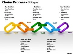 PowerPoint Slide Designs Marketing Chains Process Ppt Presentation